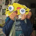 Kendra Arnold with Sponge Bob eyes