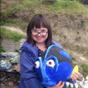 Talia Petosa with Dori