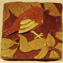 Sparrow Tile - Carol Way - Sample