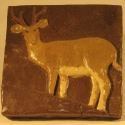 Deer Tile - Carol Way - Sample
