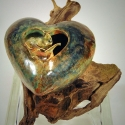 Heart on Driftwood 4 - Kendra Arnold
