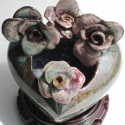 Heart with 4 flowers - Stacie Lanners