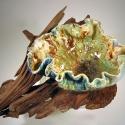 Leaf Bowl on Driftwood  - Kendra Arnold