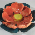 Lotus Bowl made with hearts - Erin Imes