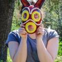 Sherilyn Sligh with Mask