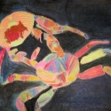 Crab Battle - Stacie Lanners - Pastel