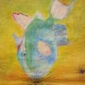 Feeding Fish - Stacie Lanners - Pastel