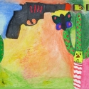 Cactus Shootout - Lukas Corradini - Markers & Pastel