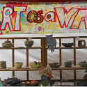 Art as a Way Banner at the Market