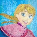 Anna - Ben Sherlock - Colored Pencil, Watercolor