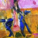 Ghost Rider - Talia Petosa - Acrylic
