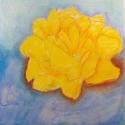 Yellow Flower - Jasmine Ambrose - Pastel