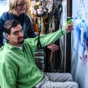 Jason Burley airbrushing