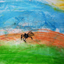 Raina's Web - Raina Hubbard - Water Color
