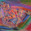Spotted Horse -Erin Imes - Pastel