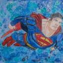 Superman - Andrew Bishop - Colored Pencil, Acrylic