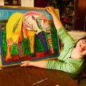 Talia Petosa drawing Elephant