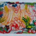Touch Drawing Flowers- Lauren Svacek - Mixed Media
