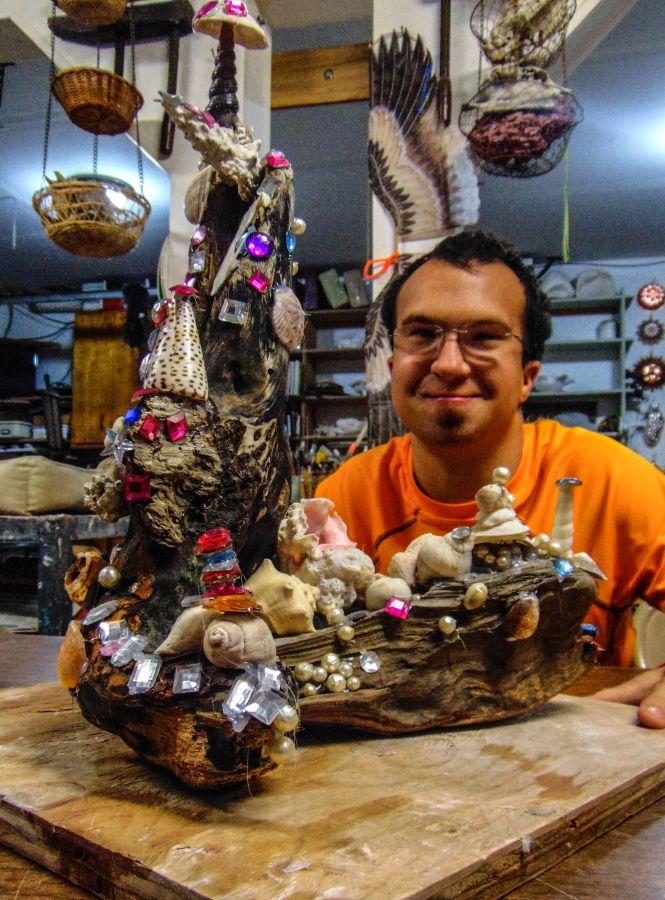 Driftwood Sculpture - Dylan Aposhyan