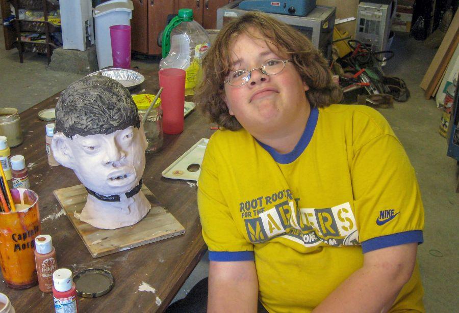 Lukas Corradini with Portrait Head