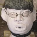 Lukas Corradini - Portrait Head -   hand painted ceramics