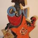 Letter Symbol Sculpture - Carol Way - Sample