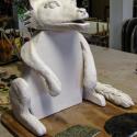 Wolf Fountain Bisque - Landon Brown