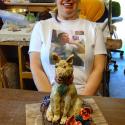 Lauren Svacek and the Pup