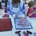 Erin Imes at the Whidbey Festival of the Arts