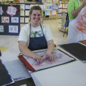 Lauren Svacek TD at the Festival of the Arts
