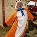 Landon Brown as Fox dancing